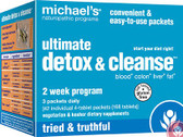 Ultimate Detox & Cleanse 42 Packets, Michael's Naturopathic