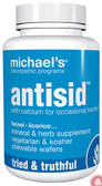 Antisid 90 Veggie Chewable Wafers, Michael's Naturopathic