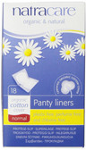 Organic & Natural Panty Liners Normal 18 Panty Liners, Natracare