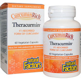 CurcuminRich Theracurmin 60 Veggie Caps, Natural Factors