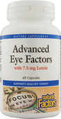 Advanced Eye Factors with 15 mg Lutein 60 Caps, Natural Factors