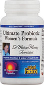 Ultimate Probiotic Women's Formula 60 Veggie Caps, Natural Factors