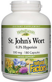 St. John's Wort 300 mg 180 Caps, Natural Factors