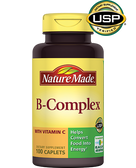 B-Complex with Vitamin C 100 Caplets, Nature Made