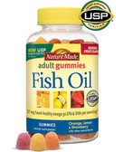 Adult Gummies Fish Oil 150 Gummies, Nature Made