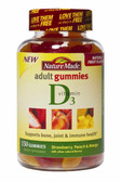 Adult Gummies Vitamin D3 150 Gummies, Nature Made