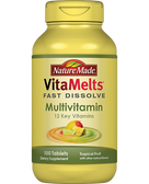 VitaMelts Multivitamin Tropical Fruit 100 Tabs, Nature Made