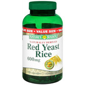 Red Yeast Rice 600 mg 250 Caps, Nature's Bounty