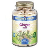 Ginger Root 100 Caps, Nature's Herbs