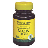 Niacin 100 mg 90 Tabs Nature's Plus, Energy
