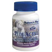 Pedi-Active Supplement For Active Children Mixed Berry Flavor 120 Chewable Tabs, Nature's Plus