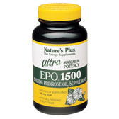 Ultra EPO 1500 Maximum Potency 60 sGels, Nature's Plus