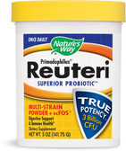 Primadophilus Reuteri Superior Probiotic Multi-Strain Powder + scFOS 5 oz (141.75 g), Nature's Way