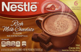 Rich Milk Chocolate Flavor 6 Packets 0.71 oz (20.2 g) Each, Nestle Hot Cocoa Mix