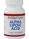 Alpha Lipoic Acid 100mg 120 Caps Healthy Origins