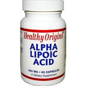 Alpha Lipoic Acid 300 mg60 Caps, Healthy Origins