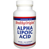Alpha Lipoic Acid 300 mg150 Caps, Healthy Origins