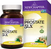 Prostate 5LX Holistic Prostate Support 180 Liquid VCaps, New Chapter