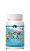 Children's DHA Strawberry 250 mg 180 Chewable sGels, Nordic Naturals