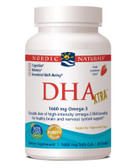 DHA Xtra Strawberry 1000 mg 60 sGels, Nordic Naturals