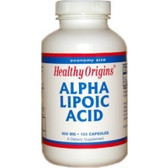 Alpha Lipoic Acid 600 mg150 Caps, Healthy Origins