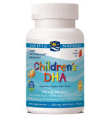 Children's DHA Strawberry 250 mg 90 Chewable sGels, Nordic Naturals