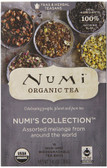 Organic Numi's Collection Teas & Herbal Teasans 18 Tea Bags 1.40 oz (39.6 g), Numi Tea