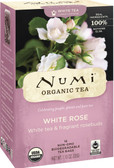 Organic White Rose Tea 16 Tea Bags 1.13 oz (32 g), Numi Tea