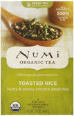 Organic Green Tea Toasted Rice 18 Tea Bags 1.65 oz (46.8 g) Each, Numi Tea