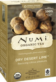 Organic Herbal Teasans Dry Desert Lime Tea 18 Tea Bags 1.4 oz (39.6 g) Each, Numi Tea
