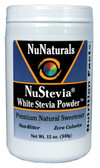 NuStevia White Stevia Powder 12 oz (340 g), NuNaturals