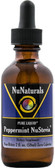 Pure Liquid Peppermint NuStevia 2 oz (59 ml), NuNaturals