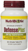 DefensePlus 250 mg Grapefruit Seed Extract 90 Vegan Tabs, NutriBiotic
