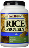 Raw Rice Protein Plain 1 lb. 5 oz (600 g), NutriBiotic