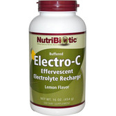 Buffered Electro-C Lemon Flavor 16 oz (454 g), NutriBiotic