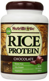 Raw Rice Protein Chocolate 1 lb 6.9 oz (650 g), NutriBiotic