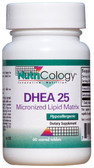 DHEA 25 Micronized Lipid Matrix 60 Scored Tabs, Nutricology