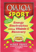 Energy Electrolytes Vitamin C Recovery Mixed Berry 1000 mg 30 Packets (7.5 g) Each, Ola Loa