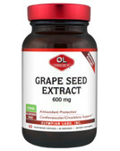 Grape Seed Extract Maximum Strength 600 mg 60 Veggie Caps, Olympian Labs