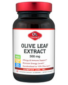 Olive Leaf Extract 500 mg 60 Veggie Caps, Olympian Labs