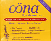 For Menopause 96 Tabs, Oona