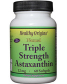 Astaxanthin 12mg 60 Softgels Healthy Origins, Antioxidant, Joints