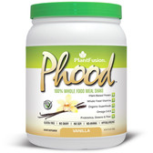 Phood 100% Plant-Based Whole Food Meal Shake Vanilla 15.9 oz (450 g), PlantFusion