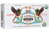 J&R Rooibos Red Tea Caffeine Free 20 Tea Bags 1.765 oz (50 g), Port Trading Co