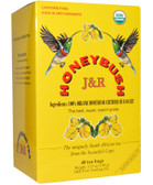 J&R Honeybush Tea Caffeine free 40 Tea Bags 3.53 oz (100 g), Port Trading Co