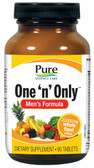 One 'n' Only Men's Formula 90 Tabs, Pure Essence