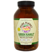 Green Kamut Heirloom Wheatgrass 240 Veggie Caps, Pure Planet