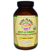 Best of Greens Sweet Lemon 158 g, Pure Planet