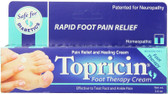 Topricin Foot Therapy Cream 2 oz, Topical Biomedics Pain Relief