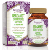 Bergamot Cholesterol Support with Resveratrol 30 Veggie Caps, ReserveAge Nutrition